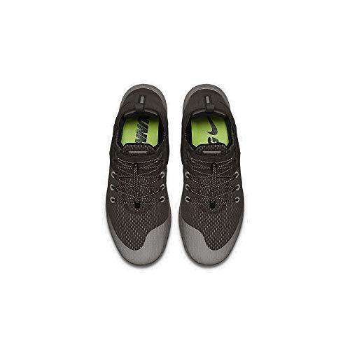 Nike Mens Free RN CMTR 2017 Prem Fabric, Ridgerock/Black-Cobblestone, Size 8.0