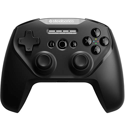 SteelSeries Stratus Duo Wireless Gaming Controller – Made for Android, Windows, and VR – Dual-Wireless Connectivity – High-Performance Materials – Supports Fortnite Mobile (Renewed)