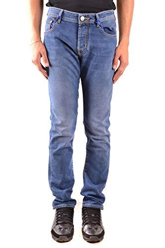 Luxury Fashion | Jacob Cohen Heren MCBI38865 Donkerblauw Elasthaan Jeans | Seizoen Outlet