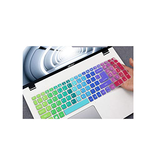 Compatible for Asus TUF Gaming FX505 Fx505ge FX505DV FX505G FX 505 GD DT GM FX505GM FX505GD Fx505DT 15.6'' Laptop Keyboard Cover Protector,Rainbow
