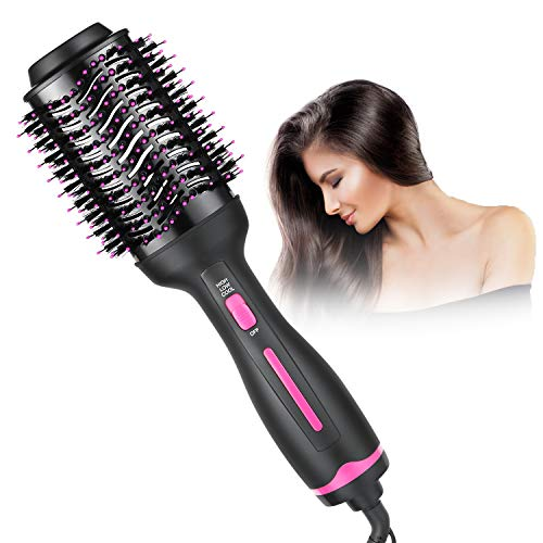 Hair Dryer Brush, Hot Air Brush,Hair Dryer & Volumizer with Smooth Frizz and Ionic Technology