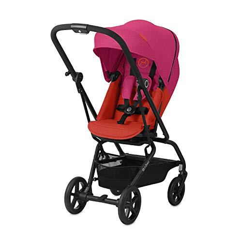 CYBEX Gold Buggy Eezy S Twist+, 360° Rotierbare Sitzeinheit, Ultrakompakt, Leichtgewicht, Ab Geburt bis 17 kg (ca. 4 Jahre), Fancy Pink