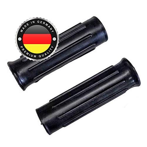 2 x Universal Schubkarrengriff | Griff | Schubkarre | Sackkarre | 30 mm Schwarz | Karrengriff