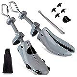 Ampliador de zapatos ajustable de 4 vías para hombre y mujer, ancho extra ancho, para pie...