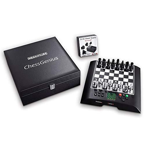 Millennium ChessGenius Pro M814 Édition spéciale – Jeu d'échecs électronique pour les joueurs ambitieux