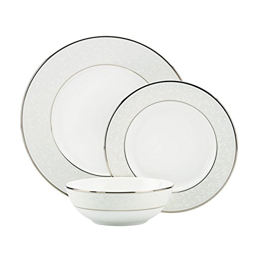 Lenox Opal Innocence 3-Piece Place Setting, White