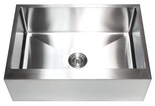 Ariel 30' x 21' Stainless Steel Farmhouse Kitchen Sink