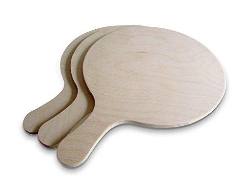 Die Schreiner - Christoph Siegel Pizza Board Set of 3 - Elegant & Practical - Size M