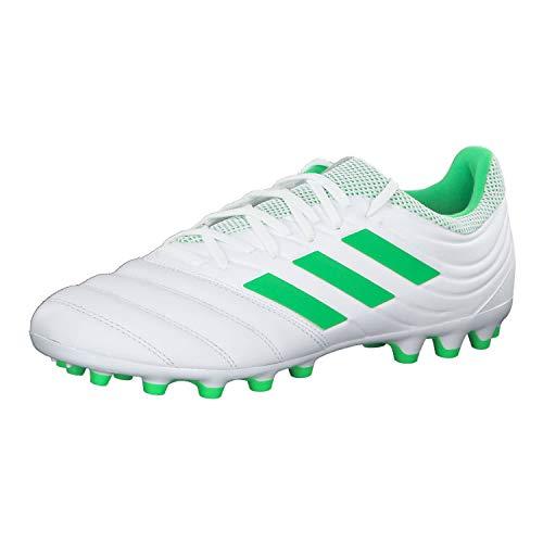 Adidas Copa 19.3 AG, Zapatillas de fútbol Sala Hombre, Multicolor (Ftwbla/Limsol/Ftwbla 000), 42 2/3 EU ✅