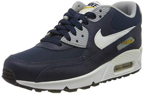 Nike Unisex Air Max 90 Gs Sneaker, Weiß (White 307793-417), 38 EU