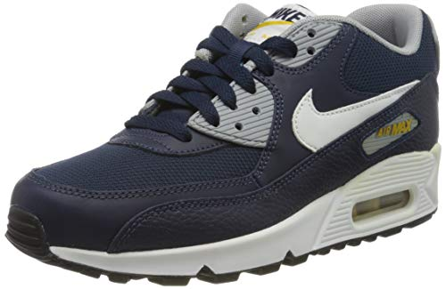 Nike Air Max 90 GS, Sneakers Basses Mixte Enfant, Blanc (White 307793-417), 38 EU