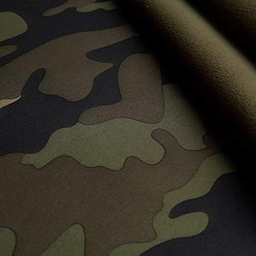 (15,99€/m) Stewell - Camouflage Softshell - Winddicht, wasserdicht, atmungsaktiv (1m)