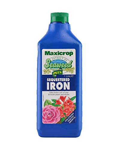 Maxicrop PPSI61L Sequestered Iron, Natural Seaweed Extract Plus 2% Iron, 1L, Concentrate
