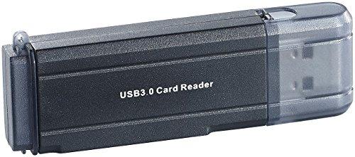 c-enter SD Card Reader: Cardreader mit USB 3.0 für SD(HC/XC) und microSD(HC/XC) (Speicherkarten Adapter)