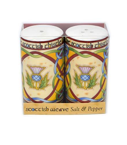 Salt and Pepper thistle-Scottish Weave
