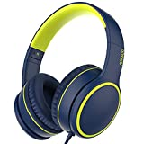 Best Folding Headphones - RORSOU R10 Over Ear/On-Ear Headphones with Microphone, Lightweight Review