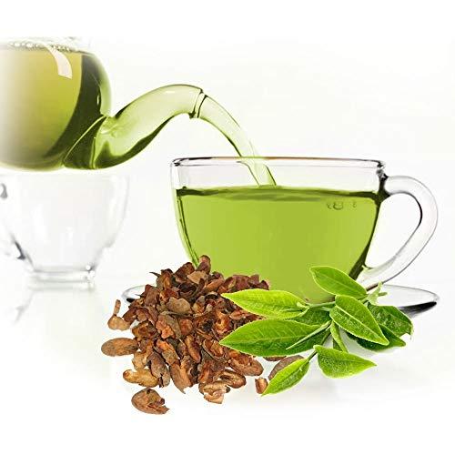 Grüner Tee Mit Kakaoflocken, köstlicher Tee