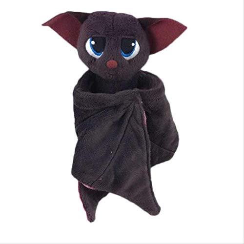 Dlcvko Peluche de 18Cm, muñeco de Peluche de murciélago Vampiro, Regalo de cumpleaños