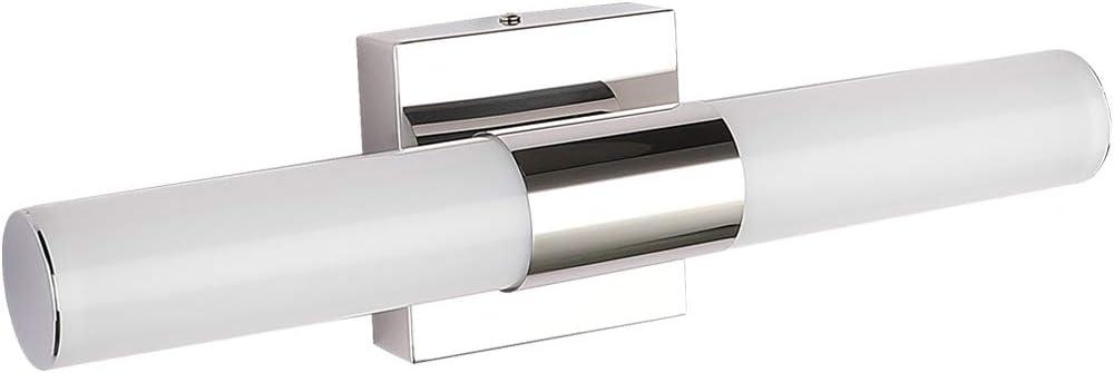 Led Vanity Lights Joosenhouse Modern Stainless Steel Bathroom Light Fixtures Over Mirror As Make Up Lighting 560lm Daylight Bath Wall Sconces Lamp 8w 15 7inch Amazon Com