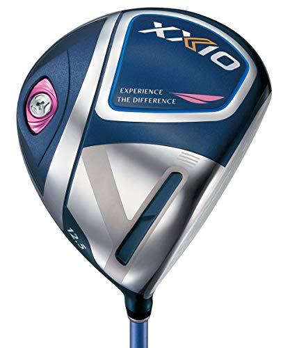ダンロップ(DUNLOP)ゴルフドライバーXXIOゼクシオイレブンゴルフドライバーMP1100Lシャフトカーボンレディス右ブルーロフト角:12.5度フレックス:L43.5インチゴルフクラブ