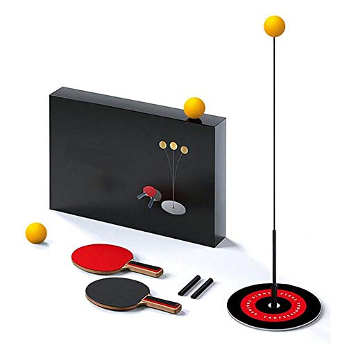 Yajun Entrenador Tenis Mesa Ping Pong Elástico Ocio Descompresión Deportes Portátil Juguete Entrenamiento De Práctica para Principiantes Niños