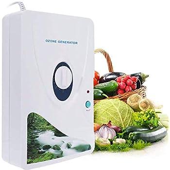 Shumo Portable Generatore di Ozono Attivo Sterilizzatore Purificatore dAria Purificazione Ortaggi E Legumi Acqua Preparazione Alimenti Ozonizzatore Ionizzatore Ac220V Es Plug