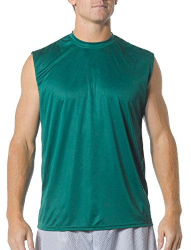 A4 Cooling Performance Muscle T-Shirt (N2295) Forest Green, 2XL