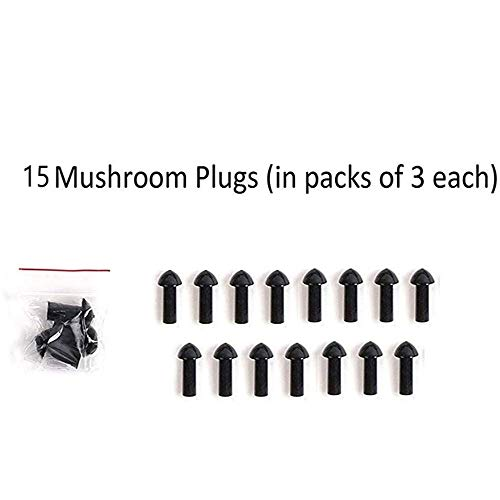GRAND PITSTOP Replacement Mushroom Plugs for...
