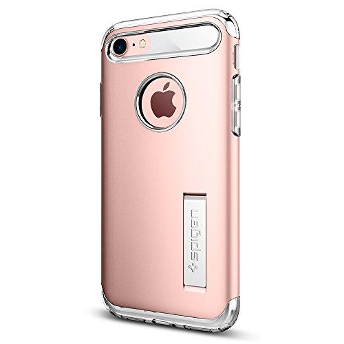 Spigen Cover iPhone 8, Cover iPhone 7 Slim Armor Progettato per iPhone 7 / 8 Cover Custodia - Rose Gold
