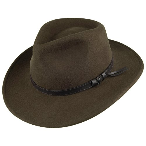 Jaxon & James Chapeau Australien Déformable Olive Medium