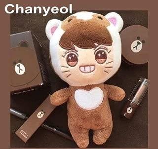 TREGIA 23Cm K Actors Exo Plush Doll Stuffed Toys Cute Chanyeol/Se Hun/Kai/D.O. /Suho/Baek Hyun Ular Korea Singer for Exo-K Fans Holiday Must Haves Favourite Movie Superhero Coloring