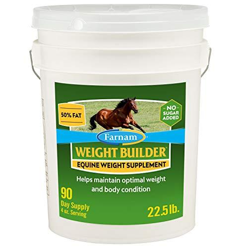 Farnam Weight Builder Equine Weight Supplement 90 Day Supply 22.5 Pound (100536875)