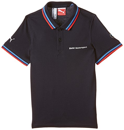 PUMA Kinder Shirt MSP Polo, BMW Team Blue, 176