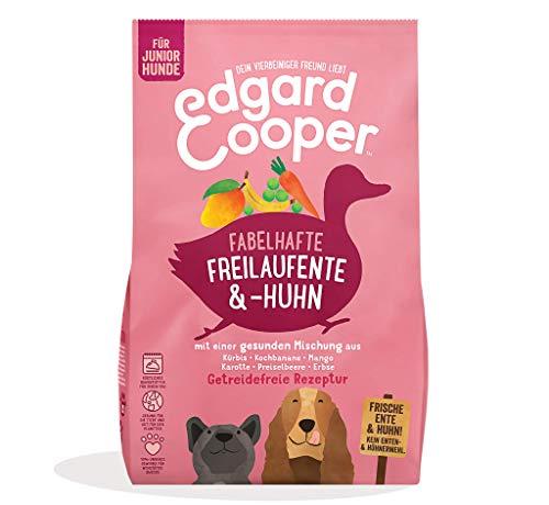Edgard & Cooper natürliche Premium Trockenfutter für Welpen - 7kg - Ente & Huhn - getreidefrei, proteinreich & fördert gesundes Wachstum
