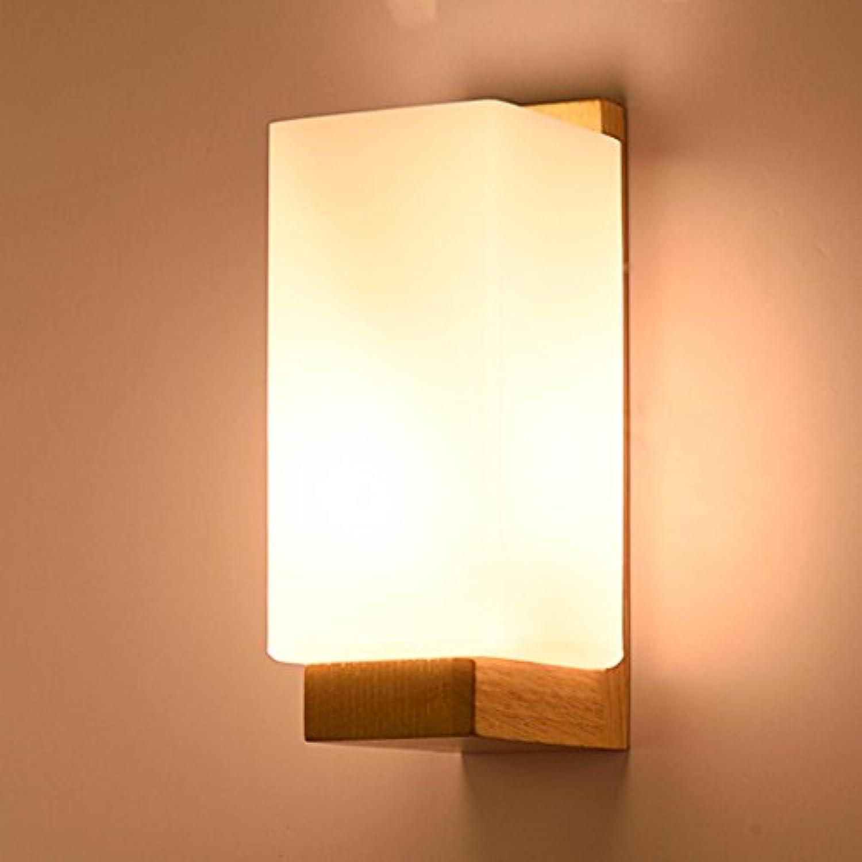 Massivholz Wandleuchte Wohnzimmer Gang Gang Schlafzimmer Nachttisch Licht Modern Einfach Led Lights
