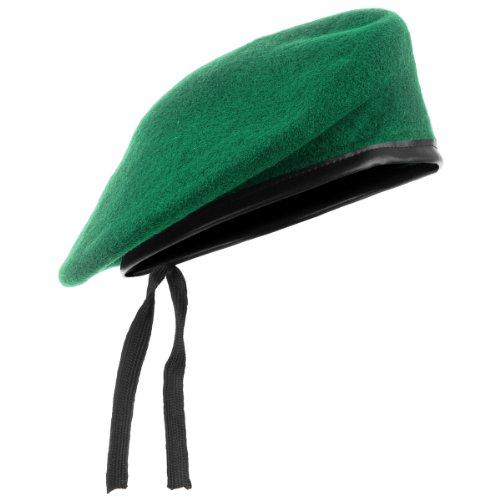 Mil-Tec boina verde tamaño 58
