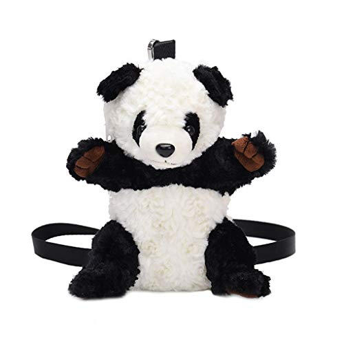 Conijiwadi Women Kids Girl 3D Cute Plush Mini Cartoon Animal Shoulder Crossbody Bag Soft Stuffed Messenger Handbag