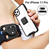 SPORTLINK Running Armband for iPhone 11 Pro, Sports Wristband with Protective Rugged Case, Easy Mount Phone Holder for Running Jogging Gym Exercise Workouts (5.8 Inch)