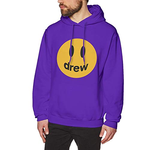 Justin Bieber Drew Hooded Sweater For Men's Hoodie Sweatshirts Cotton Hooded Mens