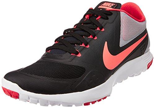 Nike Mens FS Lite Trainer II Black/Hot Lava/Wlf Gry/Drng Rd Training Shoe 10 Men US