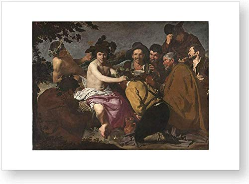 'Los borrachos o El triunfo de Baco', impresión oficial del Museo del Prado
