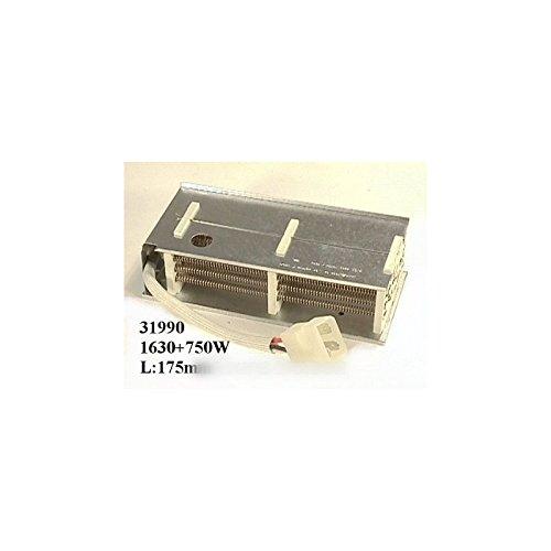 ARTHUR MARTIN ELECTROLUX FAURE - RESISTANCE SECHE LINGE 1630 W+750 W POUR SÈCHE LINGE ARTHUR MARTIN ELECTROLUX FAURE