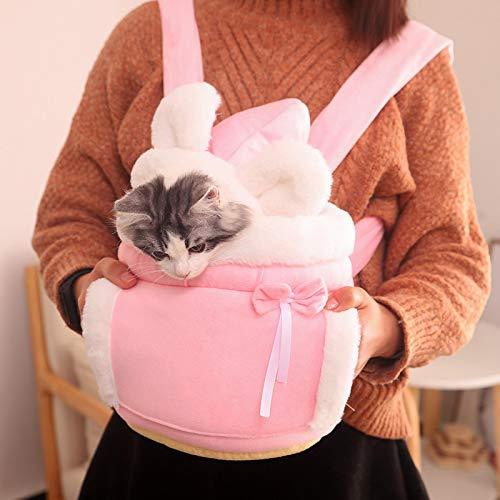 COJJ Mochila para Mascotas, Mochila de Viaje para Gatos y Perros, Adecuada para Viajar, Adecuada para Caminatas y campamentos de Gatos, pequeña M 2