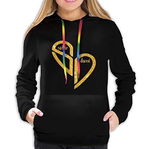 Sd-Sofie-Dossi New Merch Custom Women's Hoodie Sweatshirt Unique Girl's Pullover Hooded Fashion Jumper Sweater Black