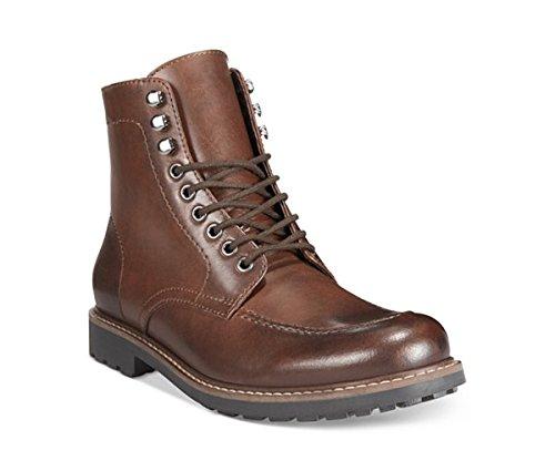 Alfani Men's Drew Moc Toe Lace Up Boots (8.5 (M)US)