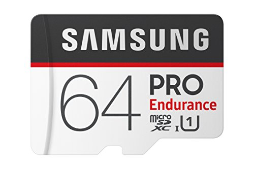Samsung PRO Endurance 64GB 100MB/s (U1) MicroSDXC Memory Card with Adapter (MB-MJ64GA/AM)
