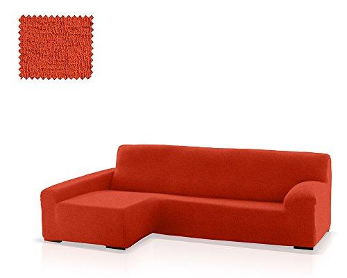 JM Textil Funda de sofá Chaise Longue Eneasis, Brazo Izquierdo, tamaño estándar (220-280 Cm.), Color 09