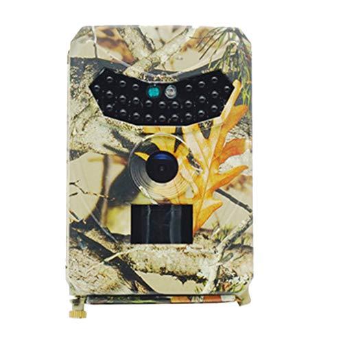 Booding Wildkamera Fotofalle 1080P Full HD 12MP mit Bewegungsmelder Nachtsicht Beutekameras mit Infrarot Leichtes Glühen IP56 Wasserdicht Wildtierkamera für Jagd und Tierbeobachtung