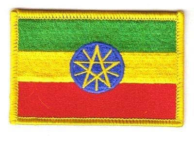 Flaggen Aufnäher Patch Äthiopien Fahne Flagge NEU by FahnenMax®