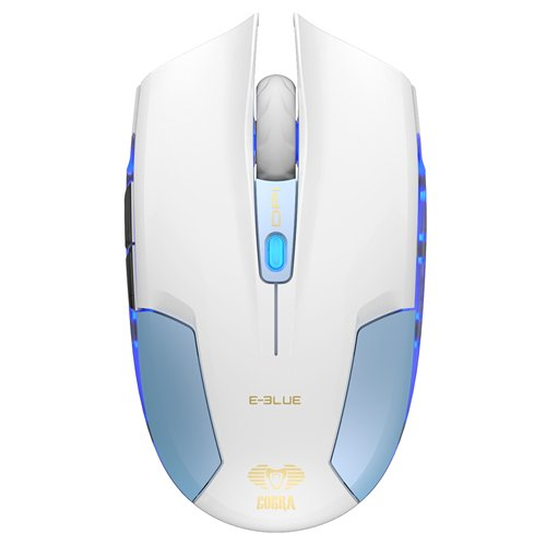 E-BLUE GAMING Cobra Type S Compact Size Portable Gaming Mouse (Yellow)